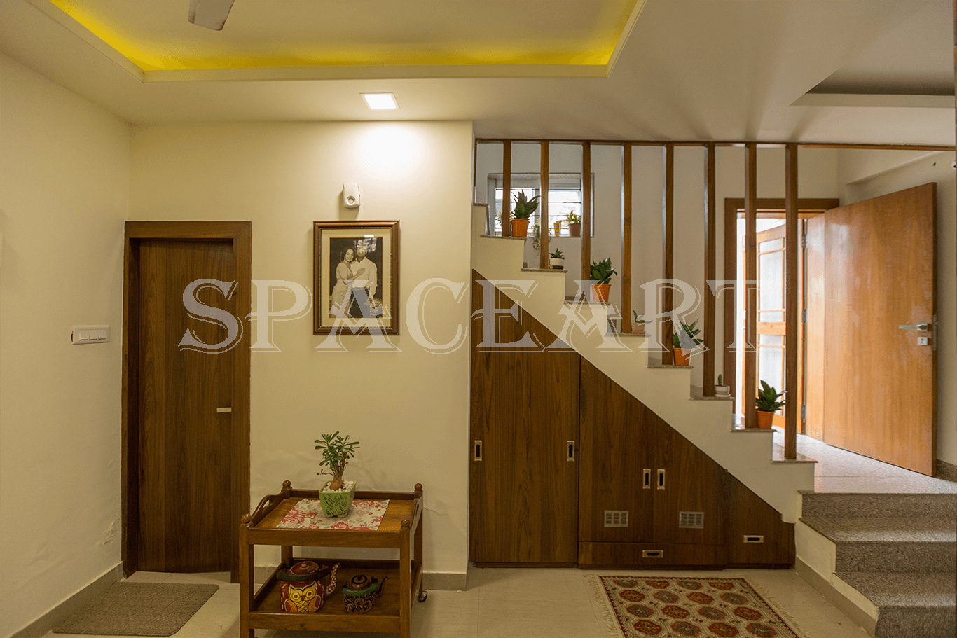 Pandey's Residence-Space-Art
