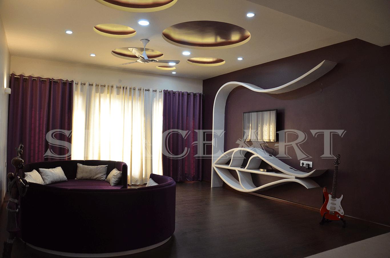 Babbar's Residence-Space-Art