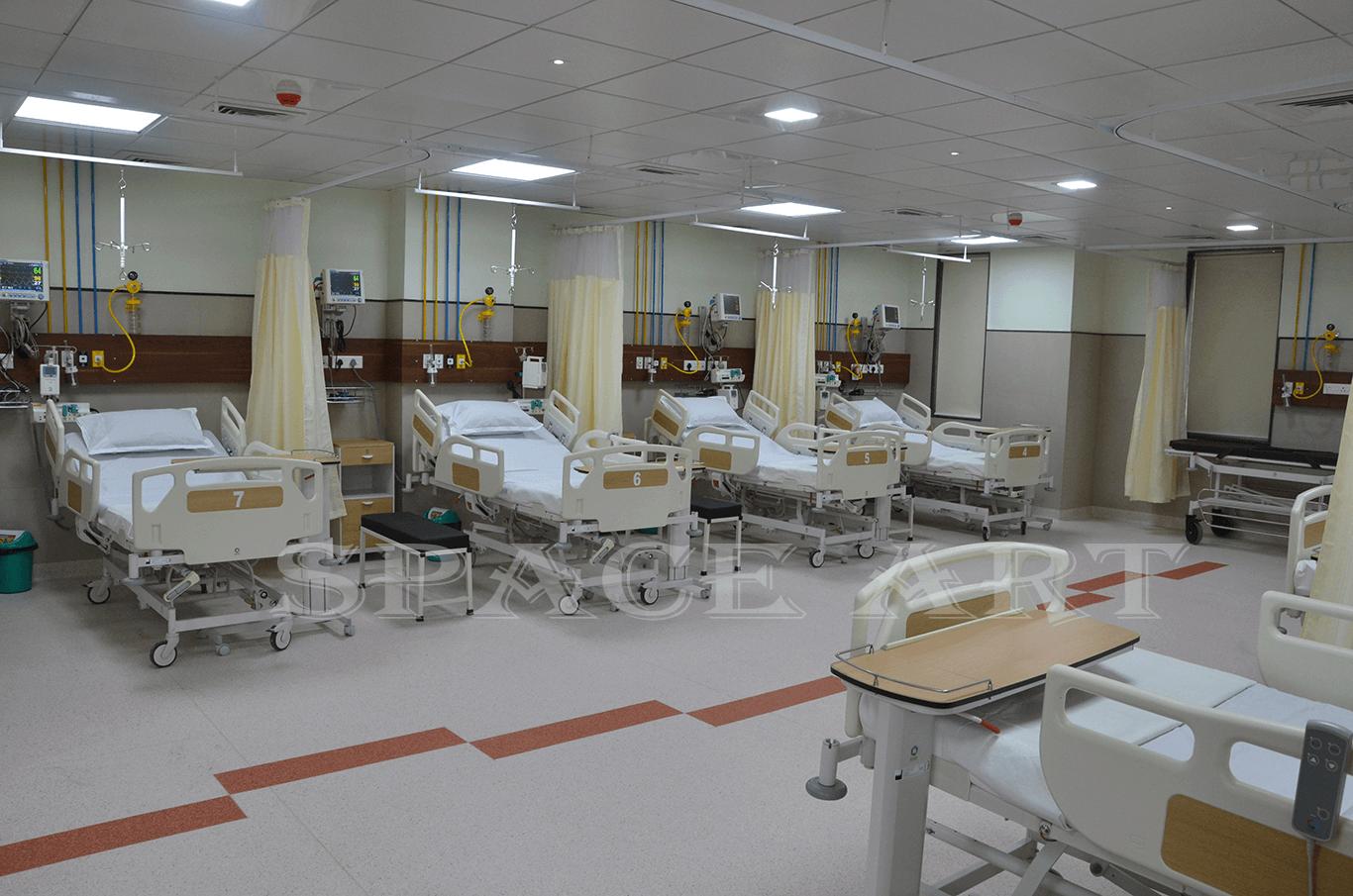 Roshan Hospital-Space-Art
