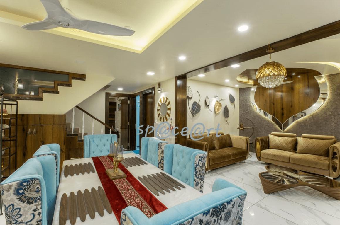 Gupta's Residence-Space-Art